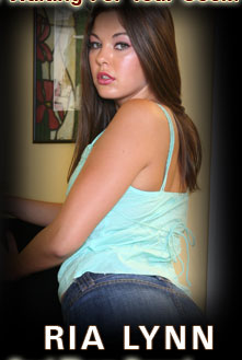 Brunette Teen Ria Lynn Featured At BrunetteBlaze.com